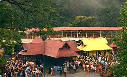 Sabarimala Temple, where religions harmony is felt in its true sense.