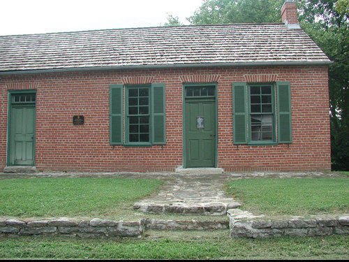 Grant's schoolhouse, Georgetown, Ohio