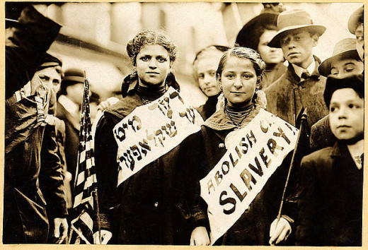Protest against child labor, 1909.
