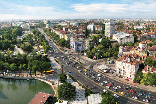 Boby Dimitrov photographed downtown Sophia, Bulgaria on August 26, 2009.
