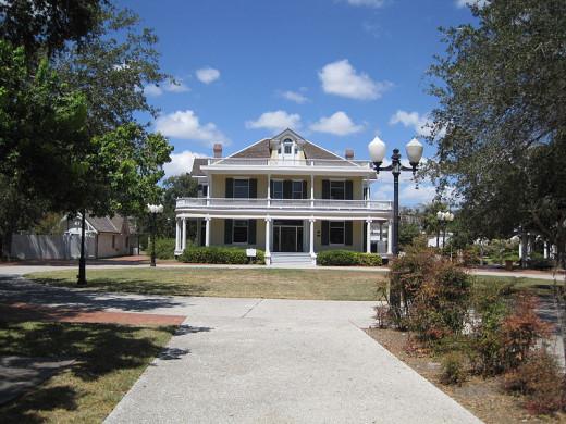Galvan House in Corpus Christi