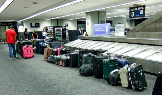 You just never know what is likely to happen with your luggage.