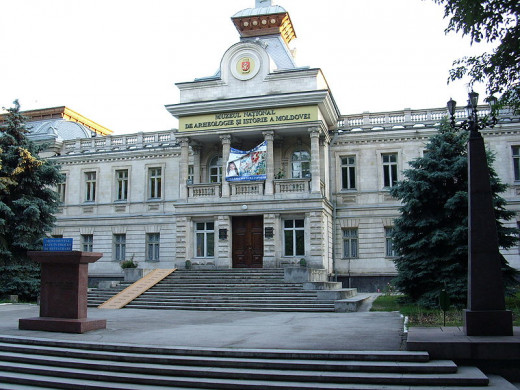 The Museum of Archeology and History in Chișinău, Moldova—the city is the birthplace of Daisy Mariposa's maternal grandfather—was photographed by Morek237 on June 13, 2009.