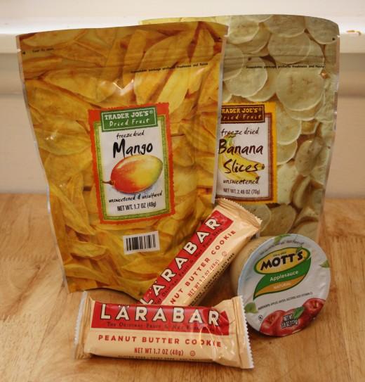 Favorite snacks