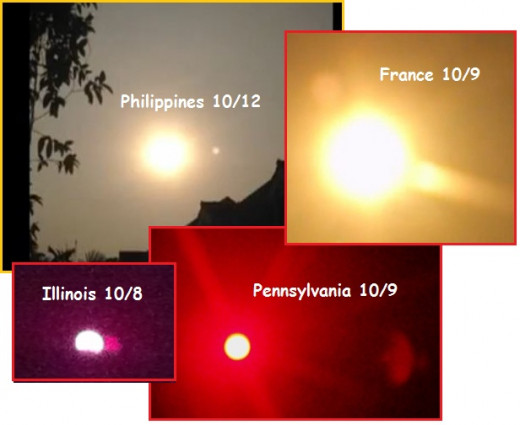 Amateur photos of Nibiru Planet X abound on the internet due to the fact that governments globally still deny its existence.