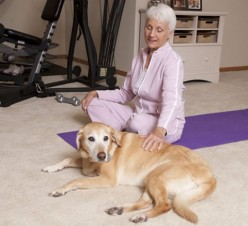 A study in the Journal of American Geriatrics indicates that seniors living on their own who have pets tend to have better physical health and mental well-being than those who don't.