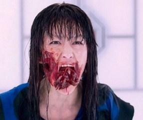 Mika Nakashima as J-Pop girl zombie in Resident Evil 5 movie