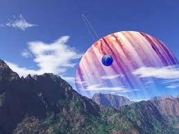 terrain of an earthlike planet