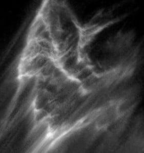 Negative spirit energy often manifests as a black mist or cloud