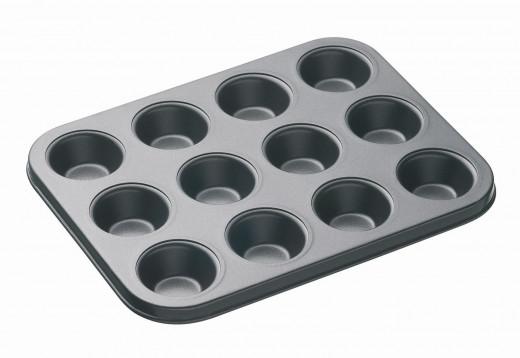 A standard muffin pan