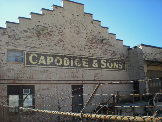 Capodice & Sons, bought out in 1995, in Bloomington's warehouse district.
