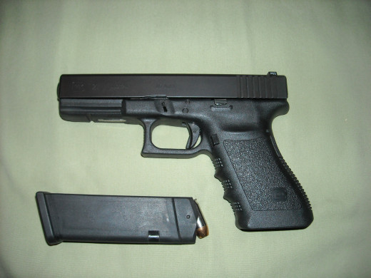 Glock 21  .45 ACP with one magazine