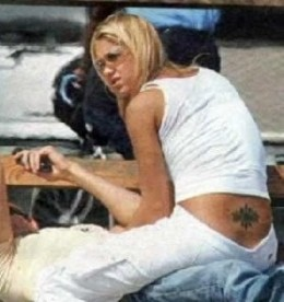 Anna Kournikova Tattoos