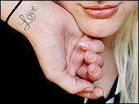 Ashlee Simpson Tattoos