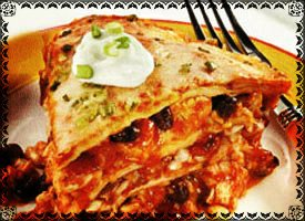 "The ""Traditional"" Enchilada Pie"