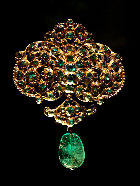 Emerald used in jewelry!