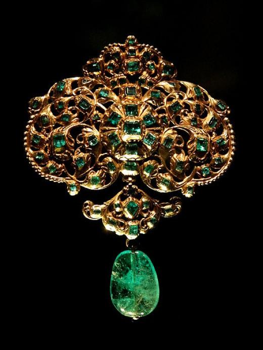Emerald used in jewelry!