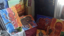 Paint Fantasy Concepts. A collection of acrylic paintings all by me Wayne Tully.
