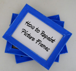 How to Paint Picture Frames | Repaint Photo Frames
