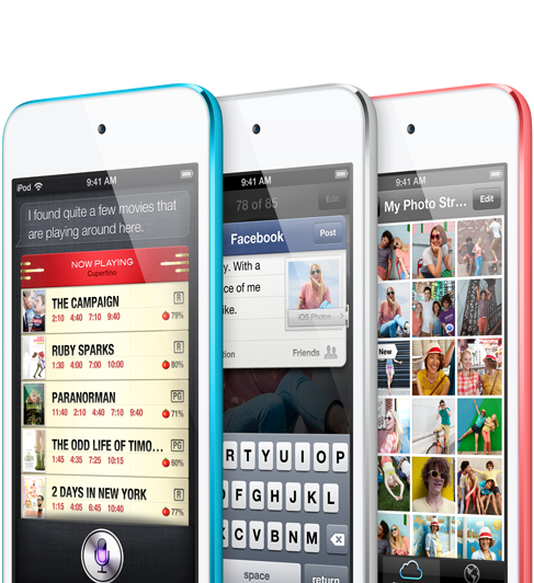 The Apple iPod Touch 5th Generation is still tops as media player and makes a great tech gift.