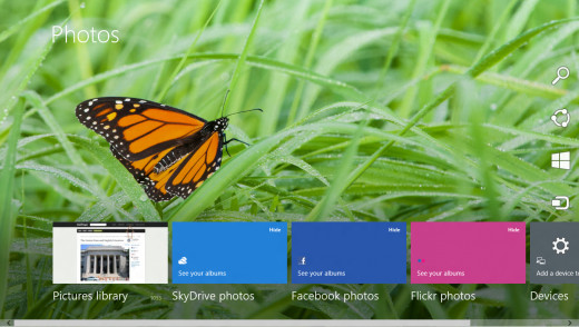 Windows 8 Photos App: Used with permission from Microsoft