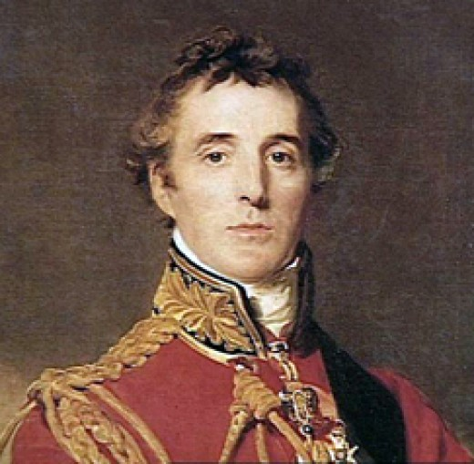 Arthur Wellesley, the Duke of Wellington, the commander of the British, Dutch and German forces.