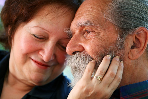Men are more likely to benefit from a long, stable marriage.