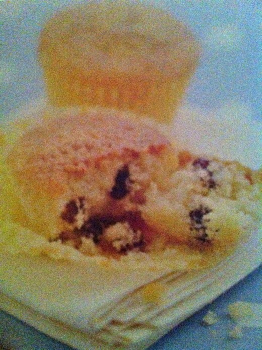 Melt in your mouth rum and raisin cupcakes!