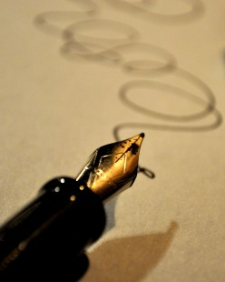 Pen and ink to scribe your creative thoughts