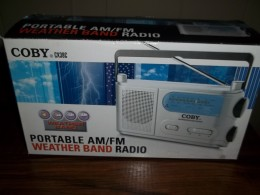 It is good to have a portable battery operated radio so that you can listen to current weather alerts.