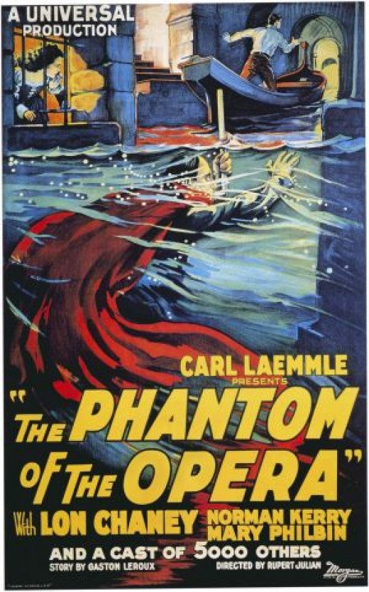 """Phantom of the Opera"" poster"