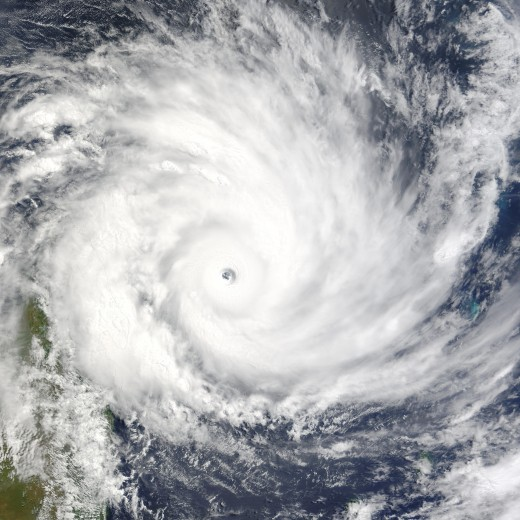 A Tropical Cyclone or Hurricane