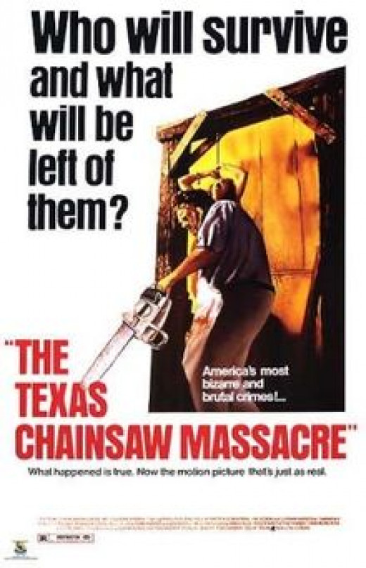 """Texas Chainsaw Massacre"" poster"
