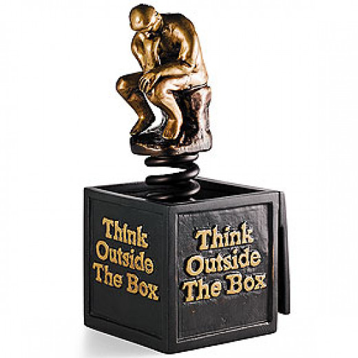 Help yourself to think out of the box.