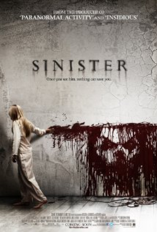 The Sinister movie poster...scared yet?