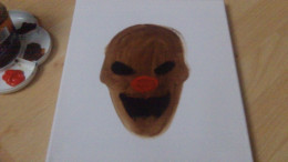 Paint that red Clown nose.