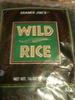 Wild rice or brown rice will work in the soup
