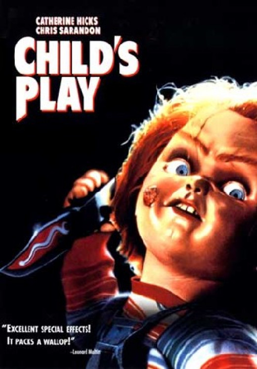 """""""Child's Play"""" poster"""