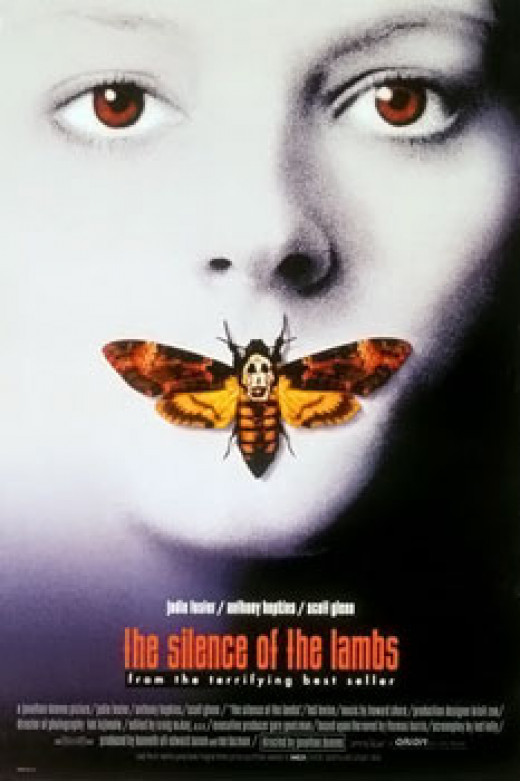 """Silence of the Lambs"" poster"