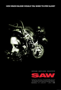 """Saw"" poster"