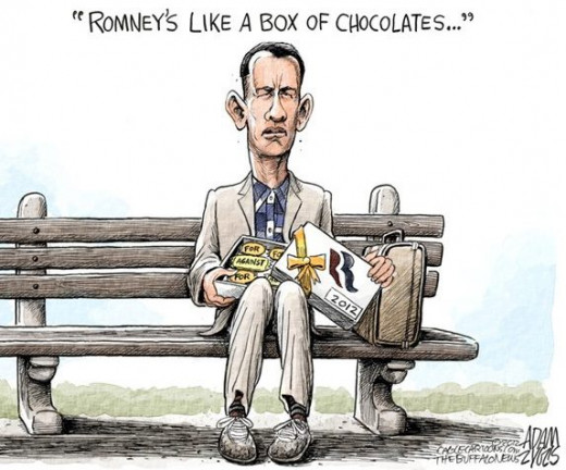 You just never know which Mitt Romney will show up!