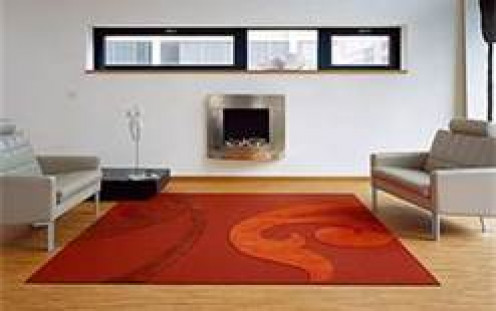 Use orange for intensity of character, personality and design in decorative home accessories. Use orange as a lift of style energy for furniture and accent furnishings. Image credit: http://interior2012.com/carpet-interior-design/