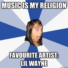 This is a typical Lil Wayne Fan