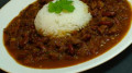 Rajma Chaval (red kidney beans curry with rice)