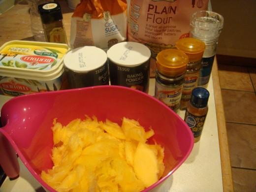 Make pumpkin cookies