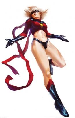 Original Ms. Marvel Costume