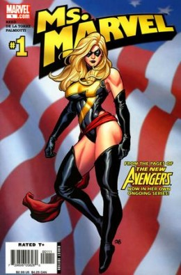 Ms Marvel Classic Costume