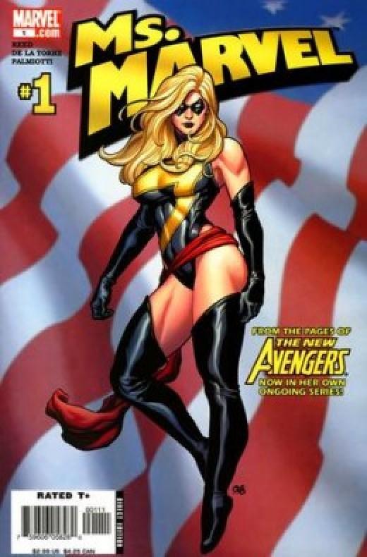 Ms Marvel Classic Costume