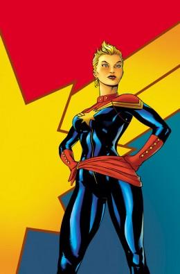 Carol Danvers as Captain Marvel