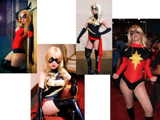 Ms. Marvel Cosplay Costumes